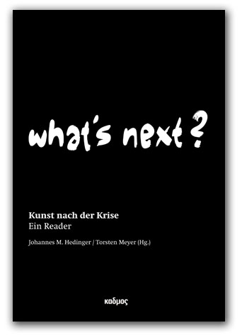 What's Next? Kunst nach der Krise
